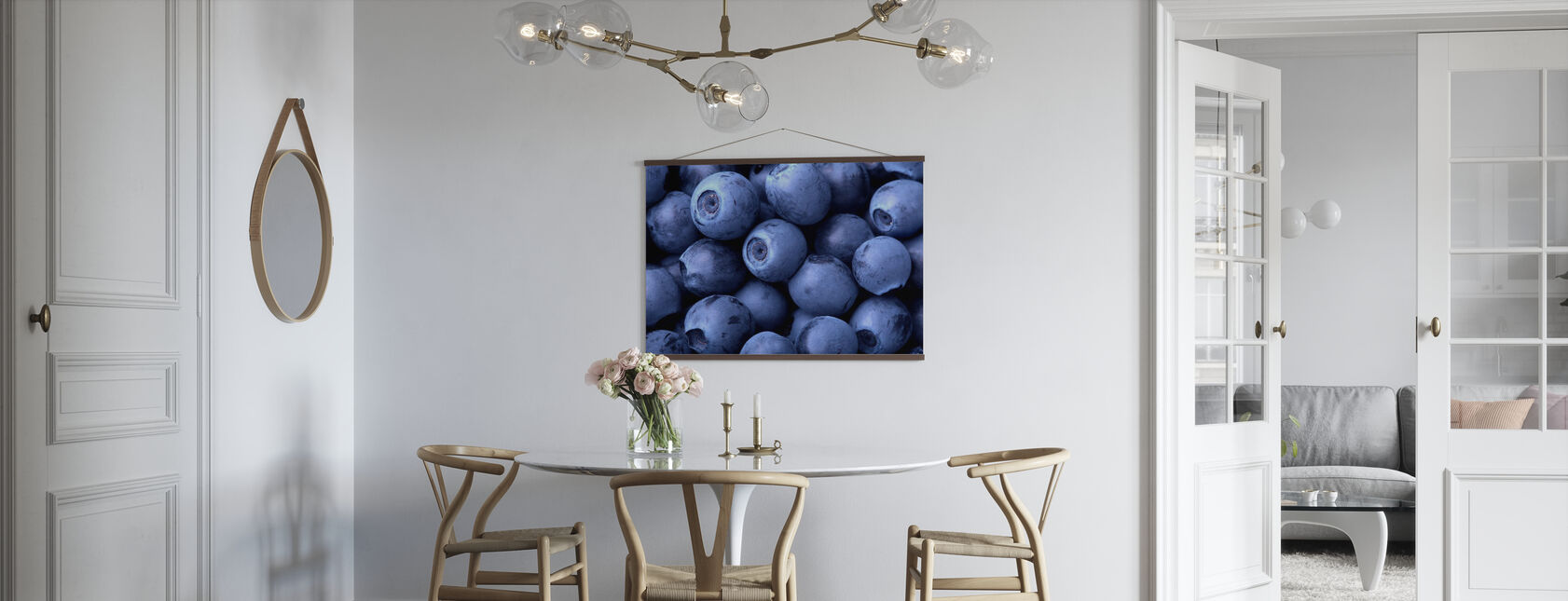 Blueberries - Poster - Kitchen