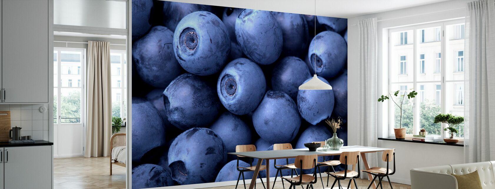 Blueberries - Wallpaper - Kitchen