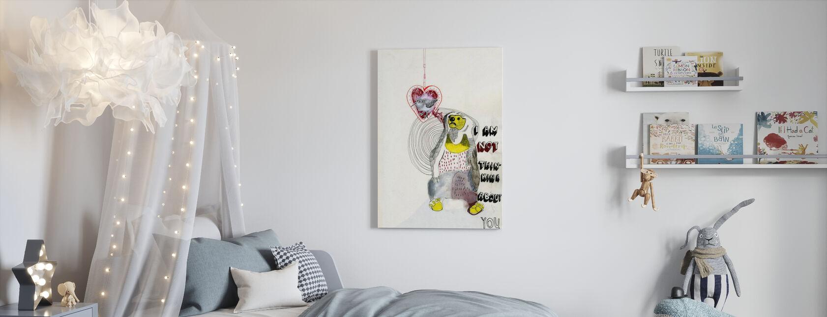 Ours - Impression sur toile - Chambre des enfants