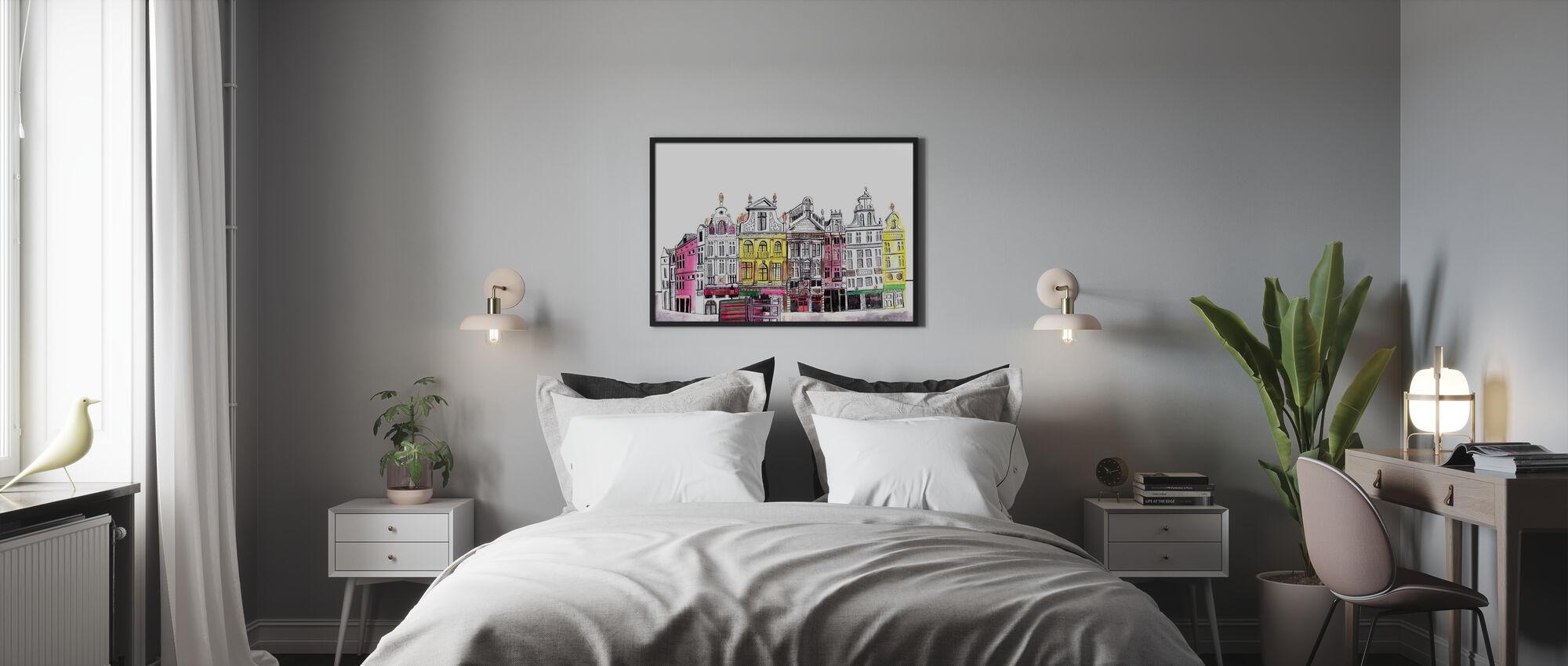 Brüssel - Poster - Schlafzimmer