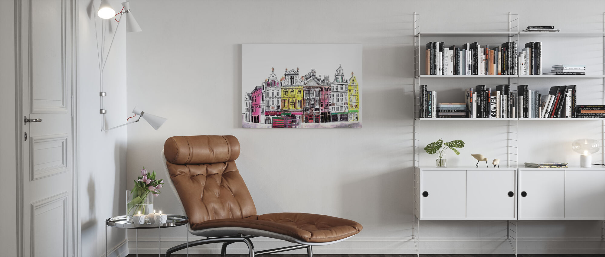 Brussels - Canvas print - Living Room