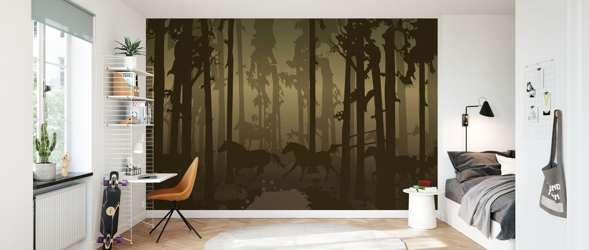 New Forest - Wallpaper - Kids Room
