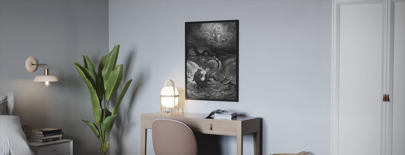 Esaias Syn - Gustave Dore - Framed print - Bedroom