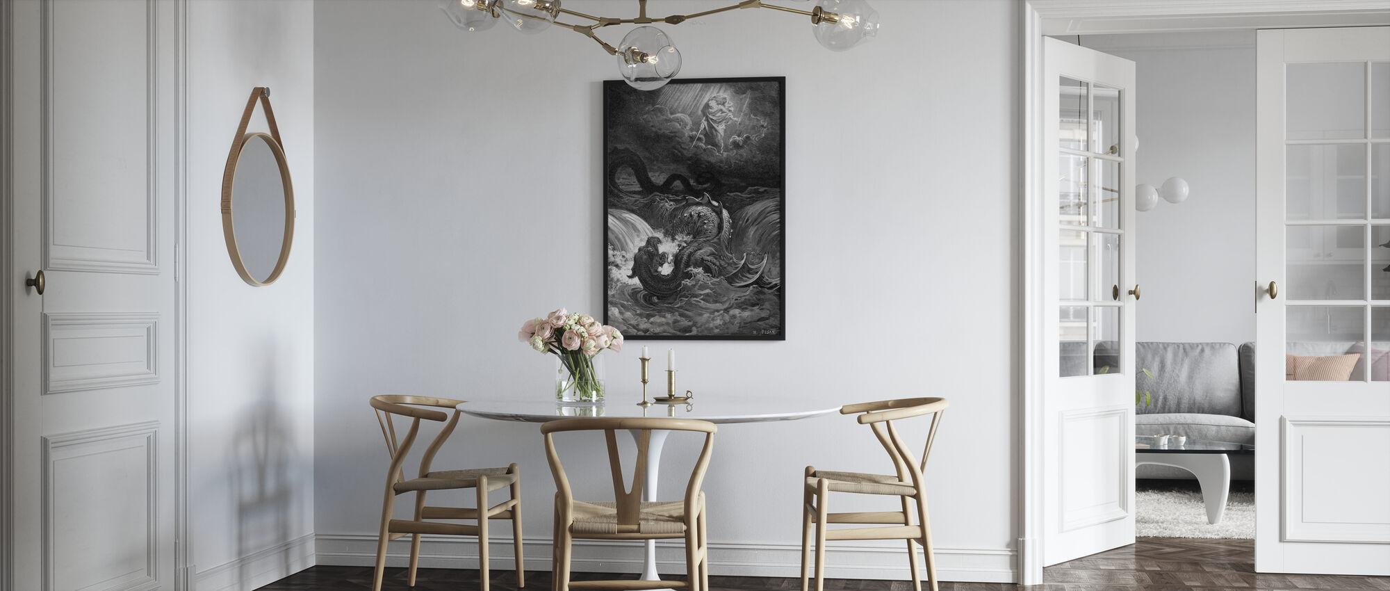 Esaias Syn - Gustave Dore - Affiche - Cuisine