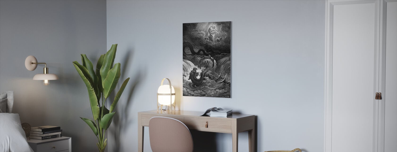 Esaias Syn - Gustave Dore - Canvas print - Kantoor