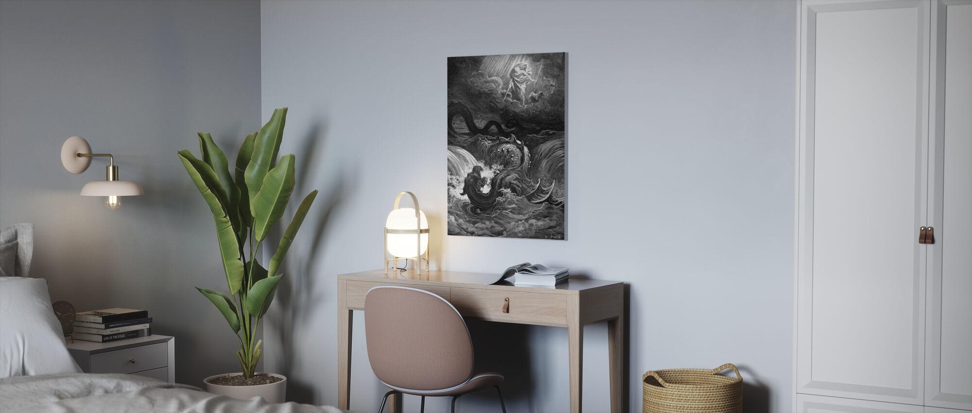 Esaias Figlio - Gustave Dore - Stampa su tela - Uffici
