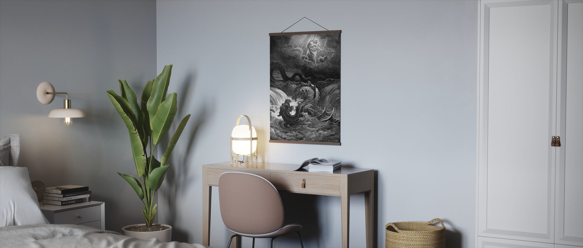 Esaias Syn - Gustave Dore - Poster - Büro