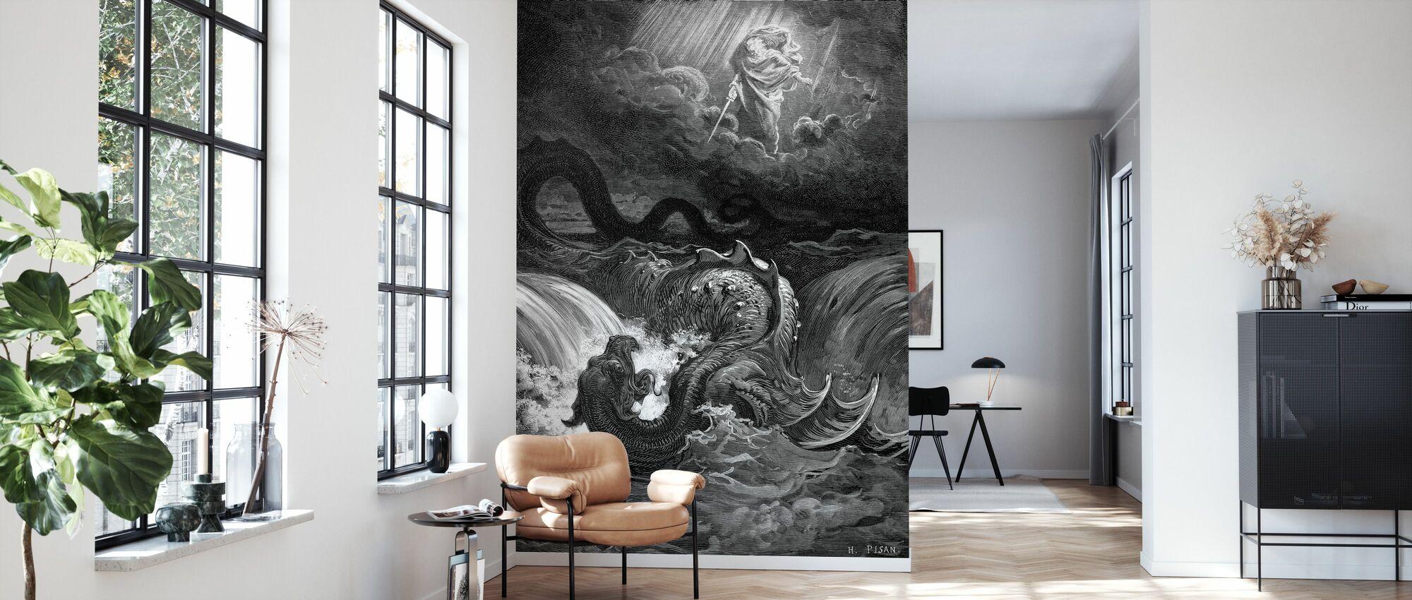 Esaias Syn - Gustave Dore - Tapete - Wohnzimmer