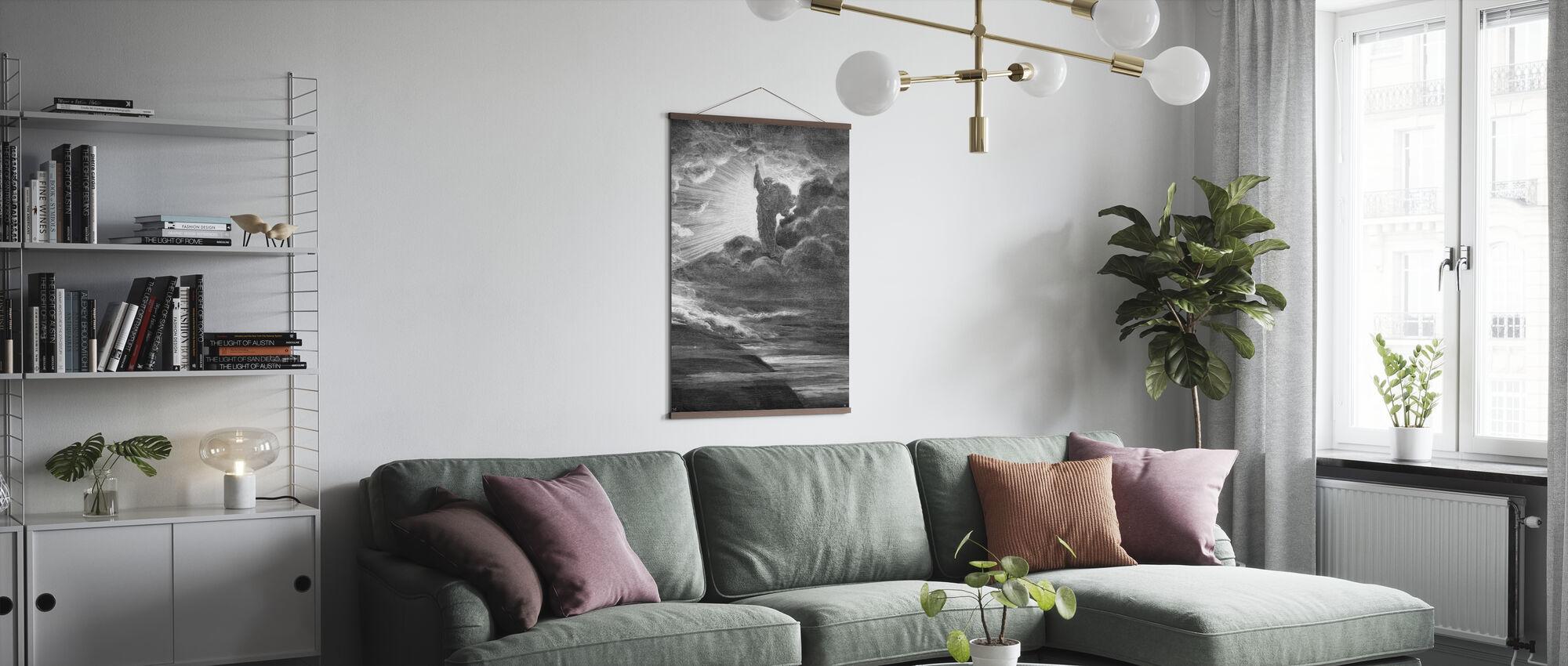 Skapelsen - Gustave Dore - Poster - Vardagsrum