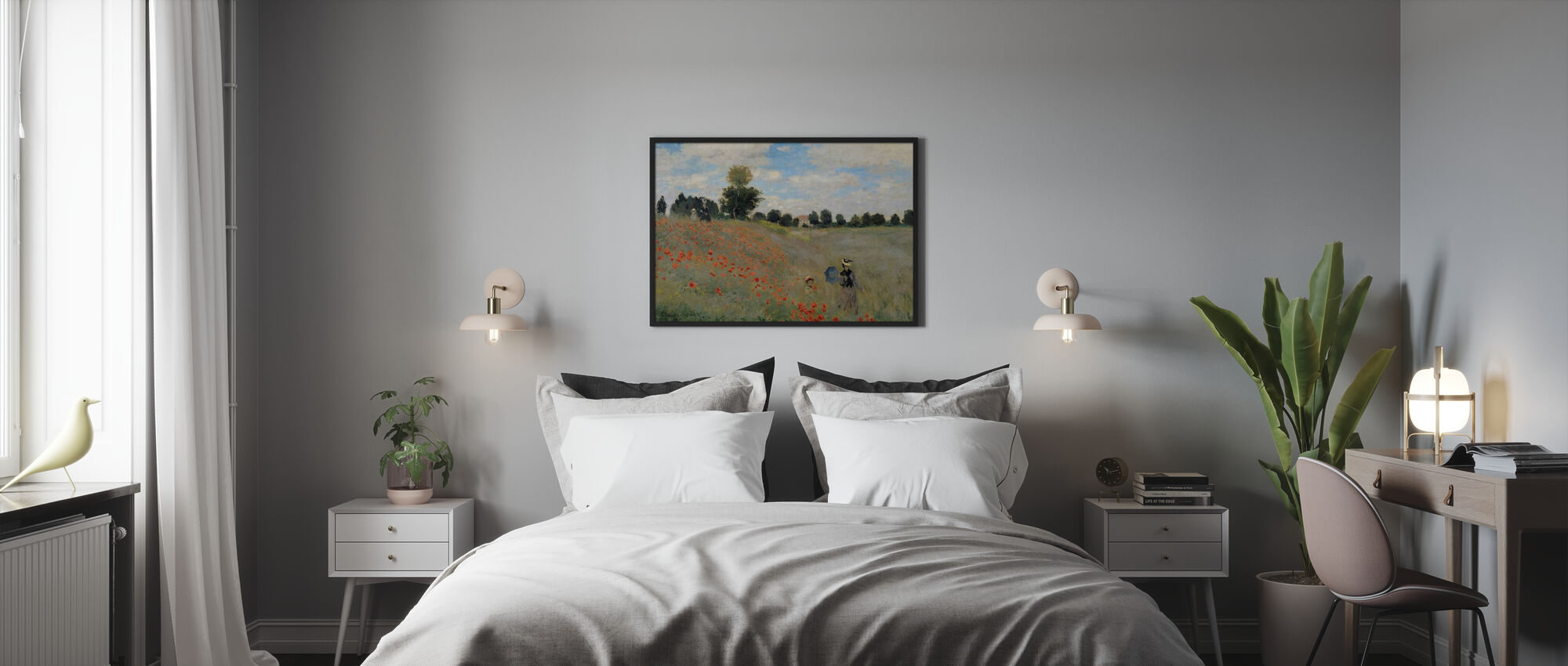 Wild Poppies - Claude Monet - Poster - Bedroom