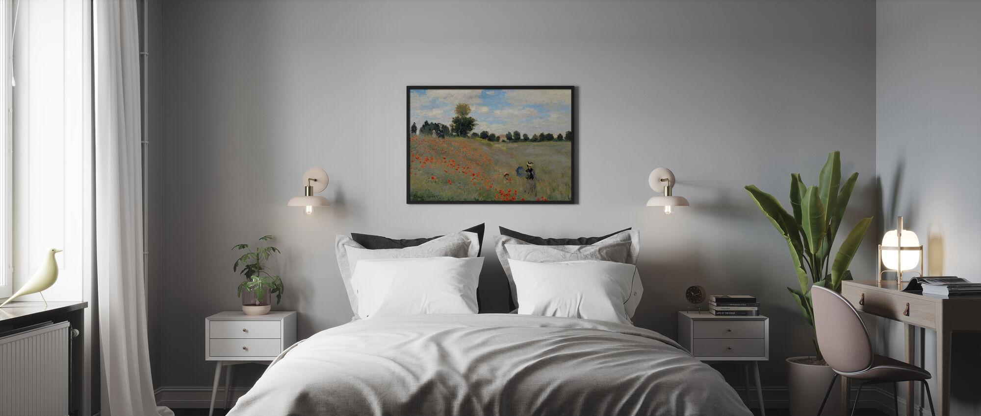 Vilde valmuer - Claude Monet - Plakat - Soveværelse