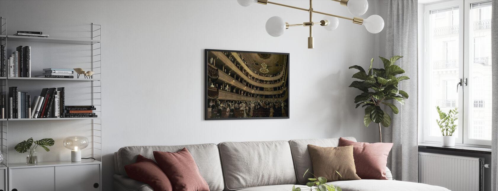 Old Castle Theatre - Gustav Klimt - Poster - Living Room