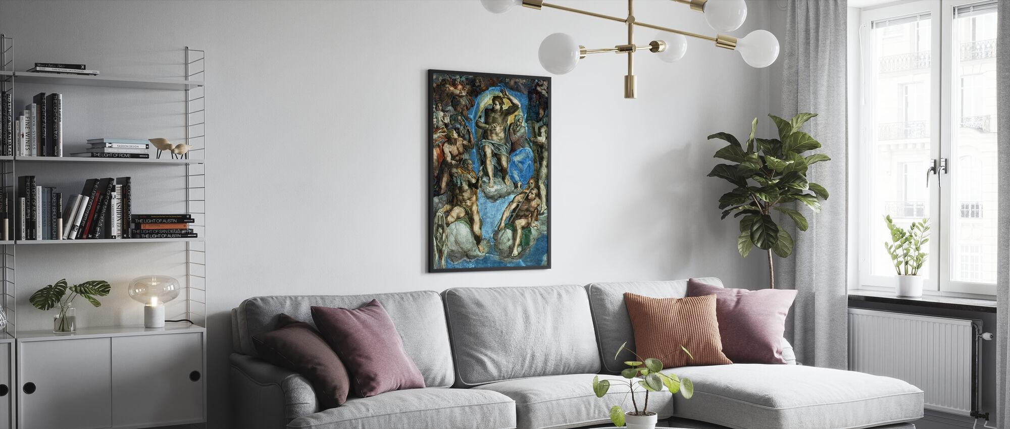 Jugement dernier - Michelangelo Buonarroti - Affiche - Salle à manger