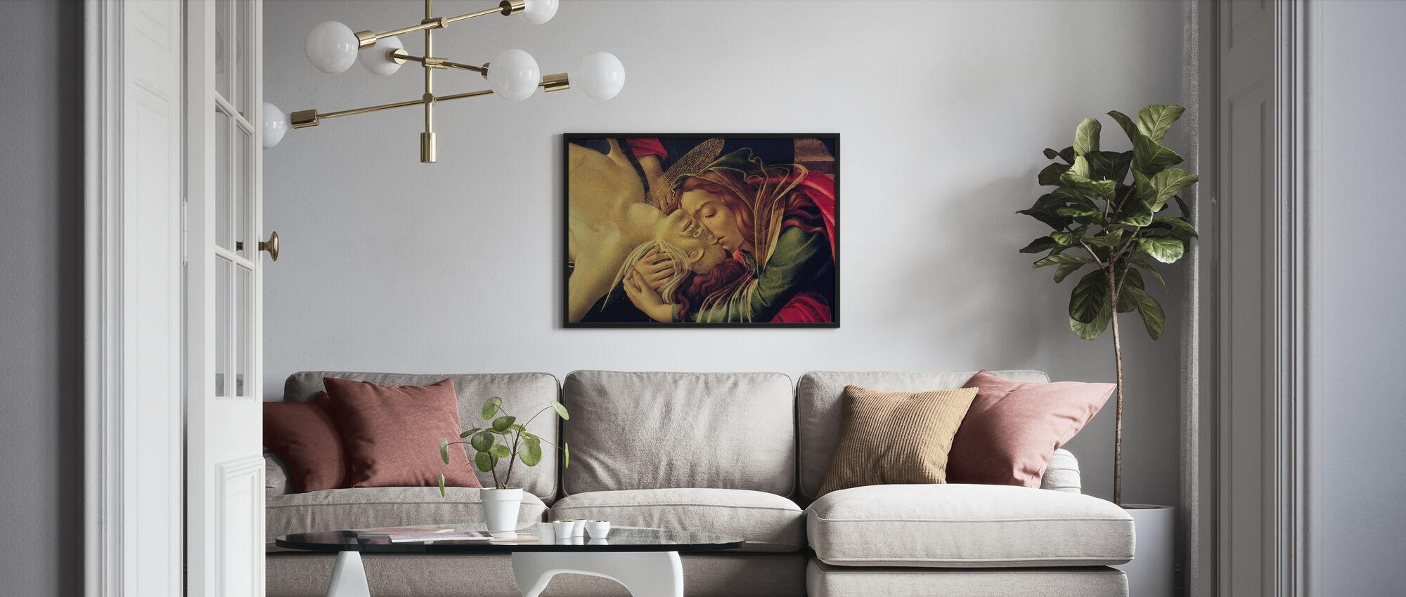Klaagzang van Christus - Sandro Botticelli - Poster - Woonkamer