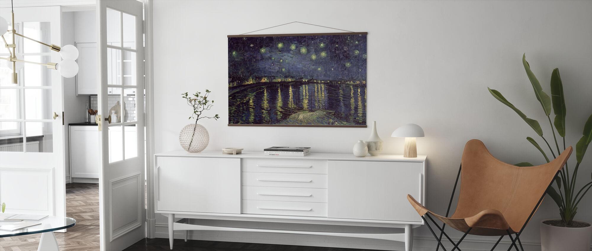 Nuit étoilée - Vincent van Gogh - Affiche - Salle à manger