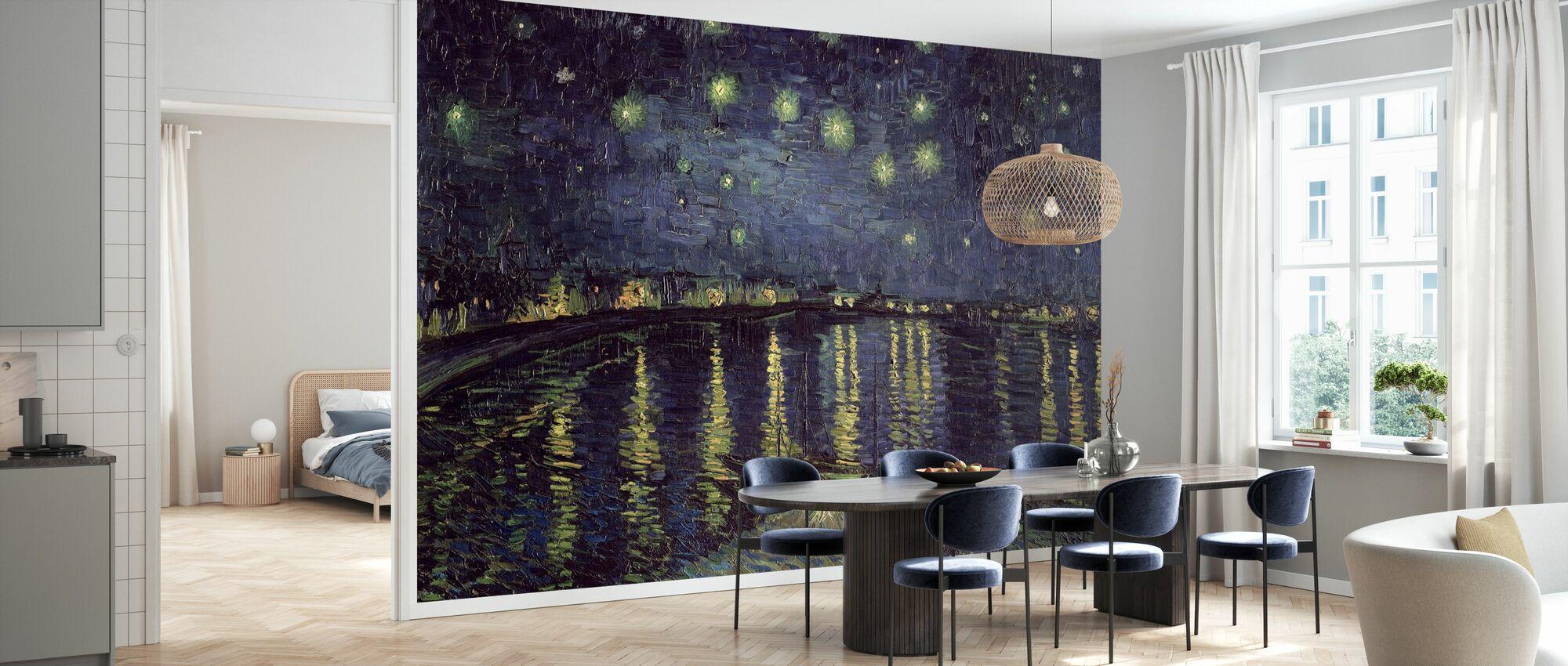 Starry Night - Vincent van Gogh - Wallpaper - Kitchen