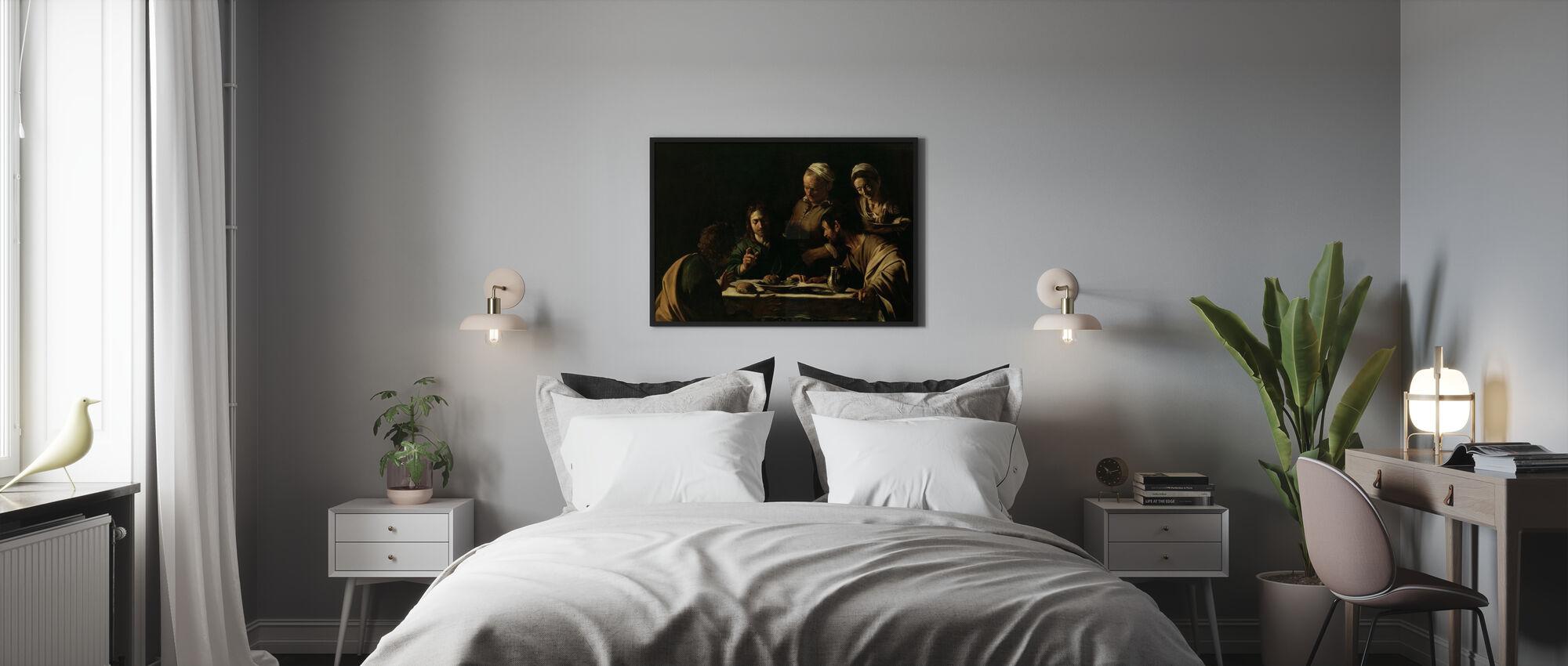 Cène à Emmaüs - Michel-Ange Caravaggio - Affiche - Chambre