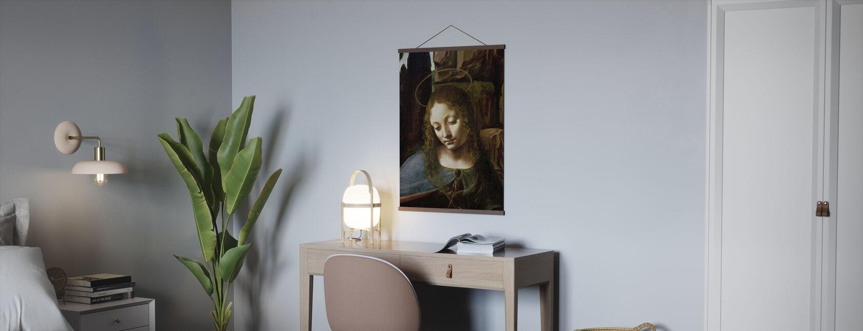 Virgin Av Klippene - Leonardo da Vinci - Plakat - Kontor