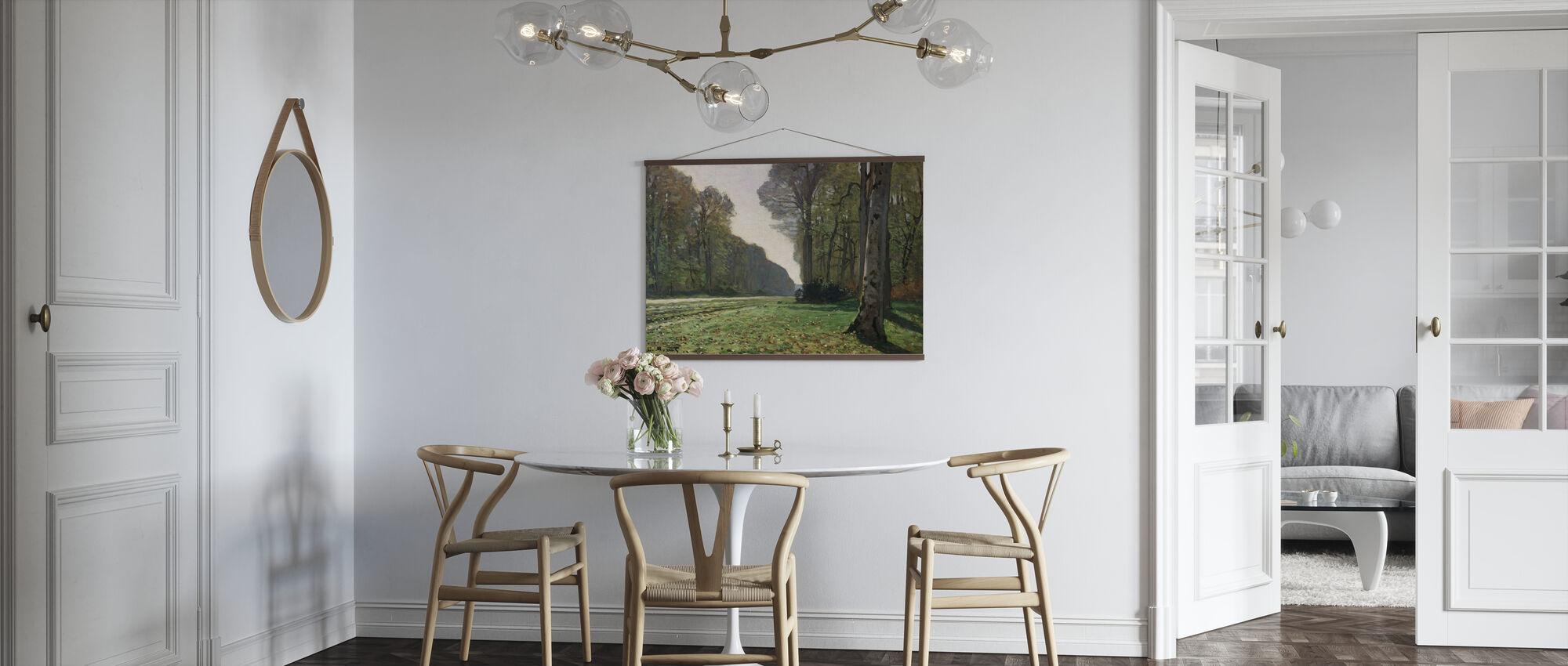Fontainebleau - Claude Monet - Poster - Keuken