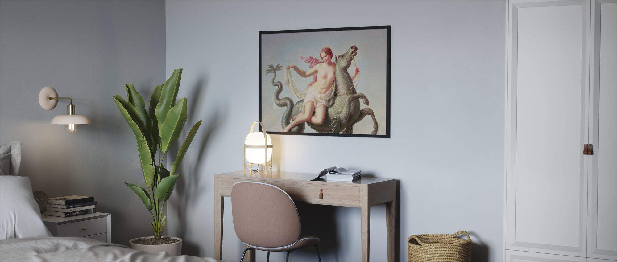 Escape of Galatea - Michelangelo Maestri - Framed print - Bedroom