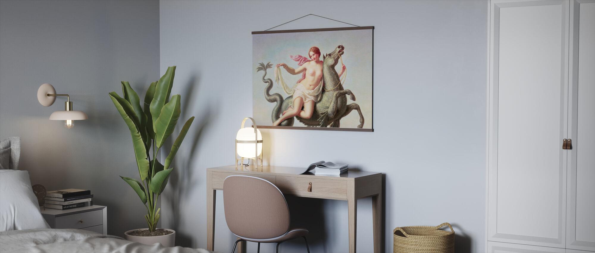 Escape of Galatea - Michelangelo Maestri - Poster - Office