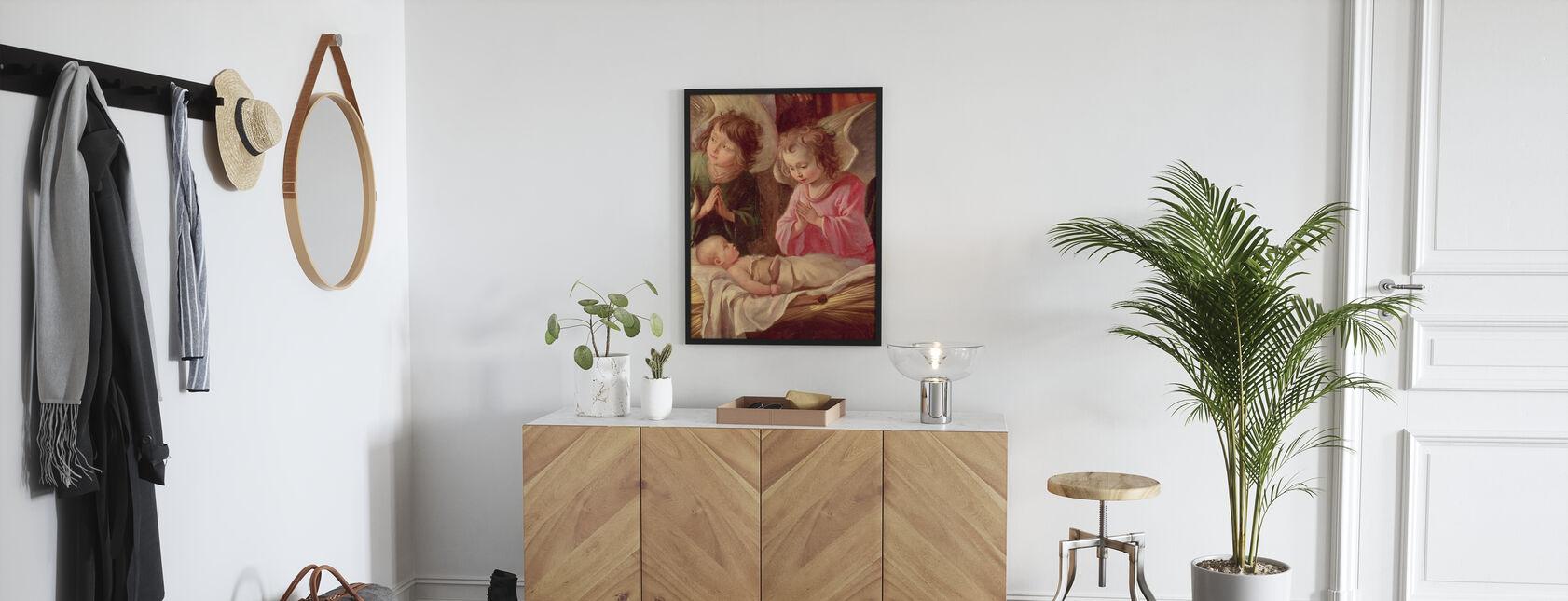 Paimenten ihailusta - Antoine Le Nai - Juliste - Aula
