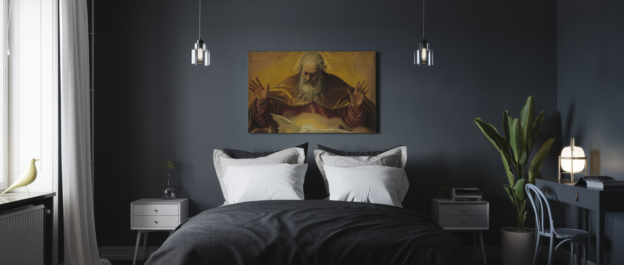 Eternal Father - Paolo Veronese - Canvas print - Bedroom