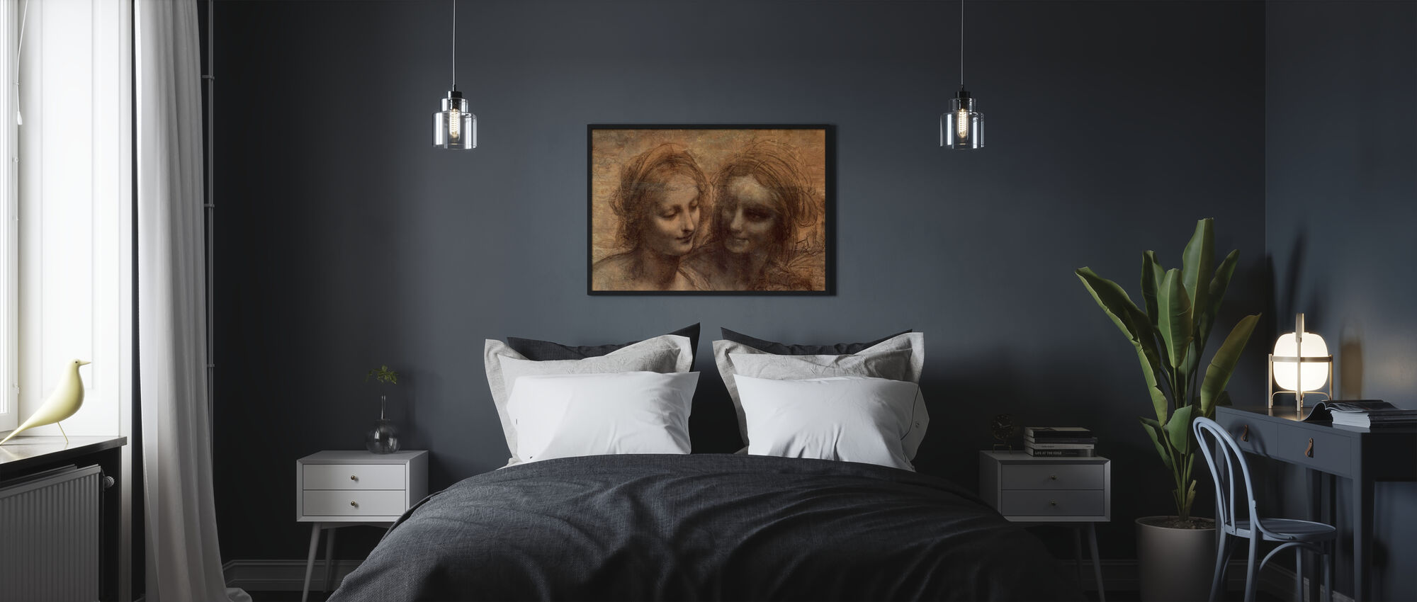 Virgin and Child - Leonardo da Vinci - Poster - Bedroom