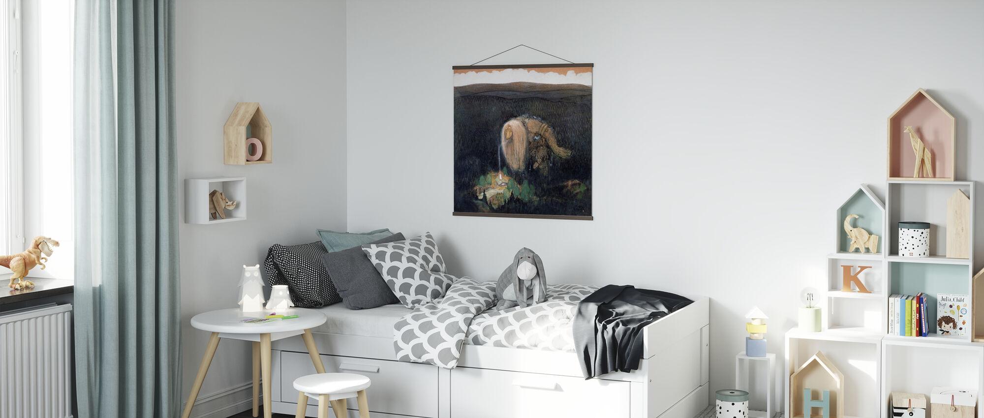 Skogstroll - John Bauer - Poster - Kinderzimmer