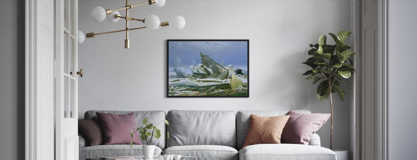 Morze Polarne - Caspar Friedrich - Plakat - Pokój dzienny