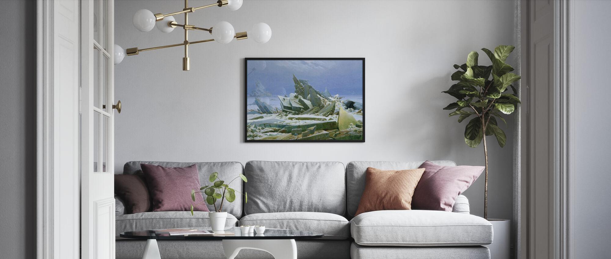 Polar Sea - Caspar Friedrich - Poster - Living Room
