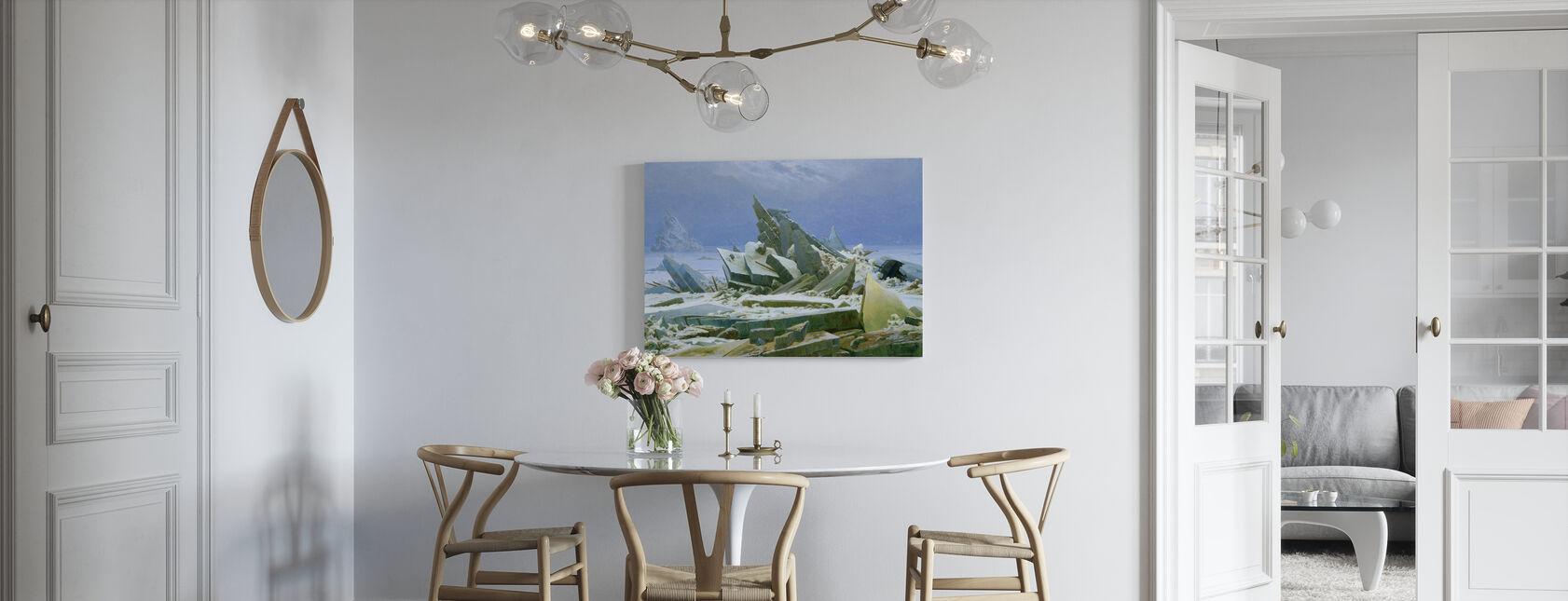 Polarhavet - Caspar Friedrich - Canvastavla - Kök