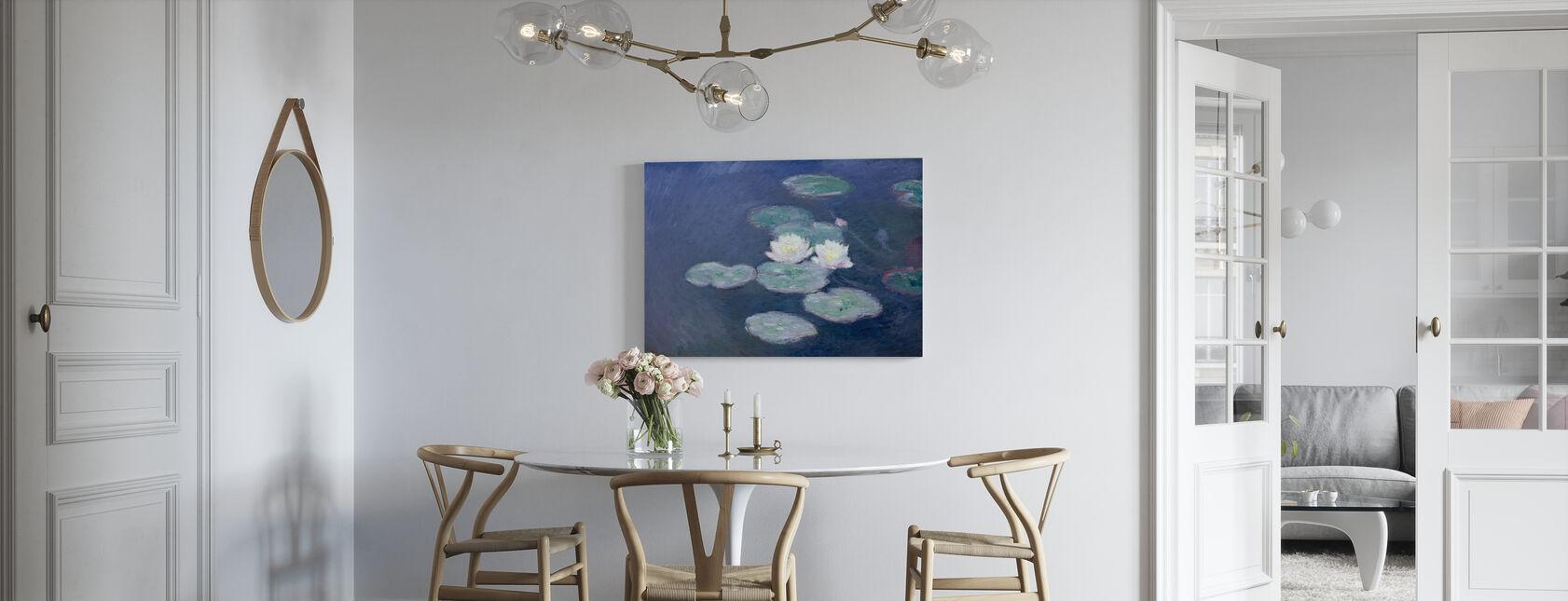 Waterlilies - Claude Monet - Canvas print - Kitchen