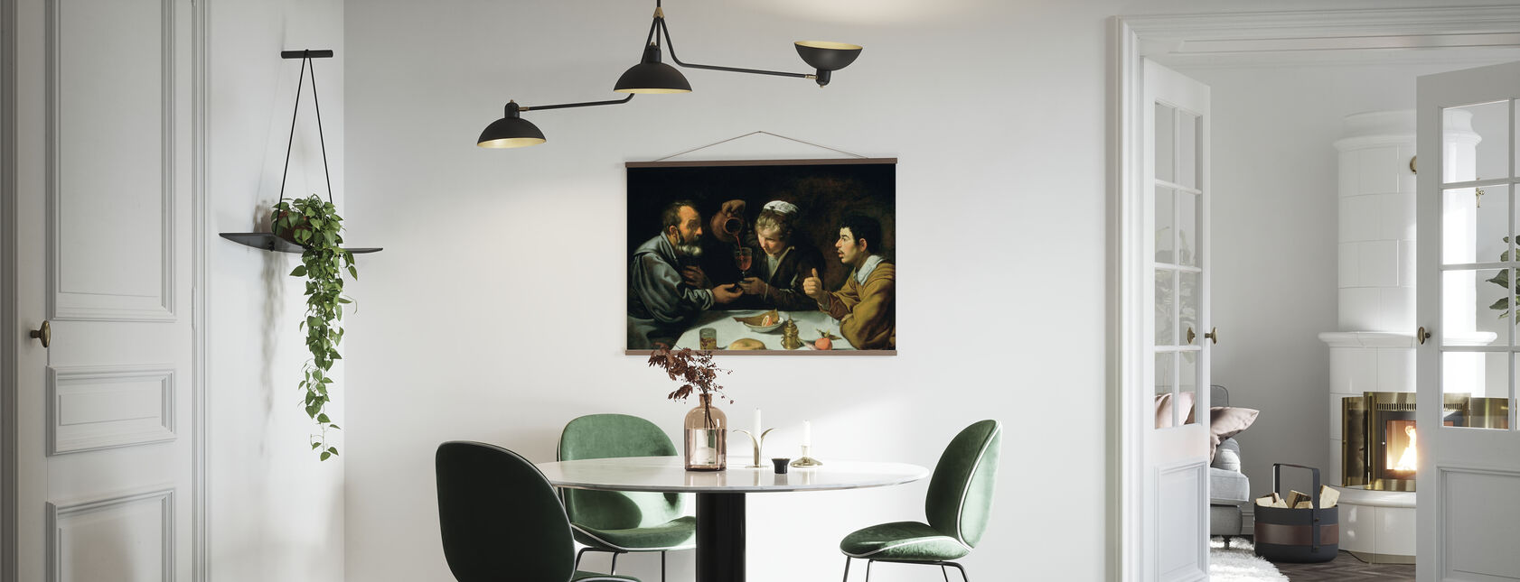 Lunch - Diego Velasquez - Poster - Keuken