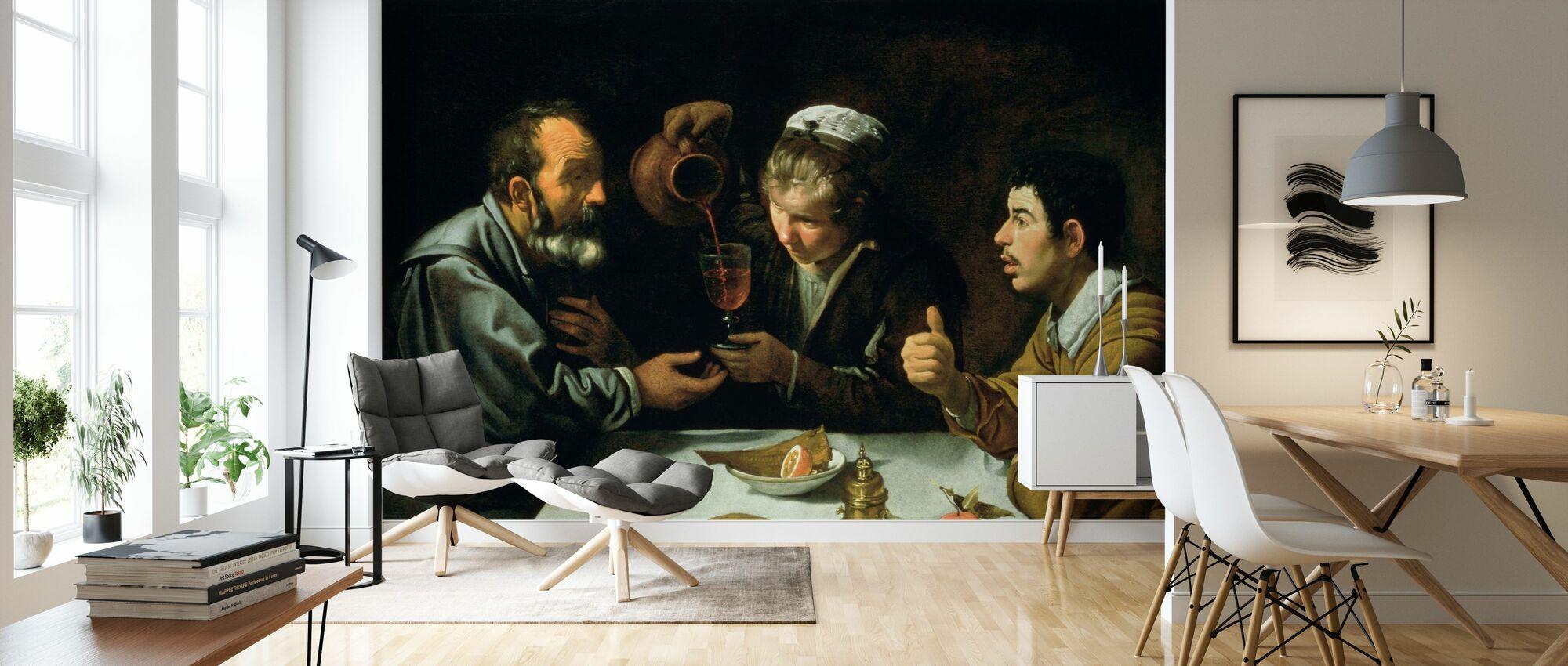 Almuerzo - Diego Velasquez - Papel pintado - Salón