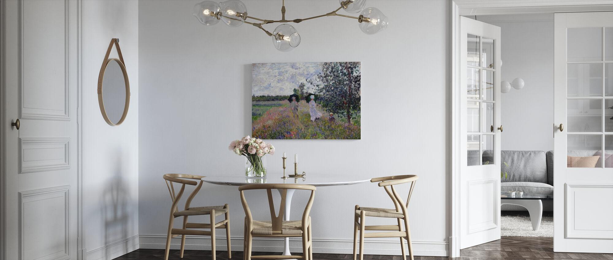 Promenade - Claude Monet - Canvas print - Kitchen