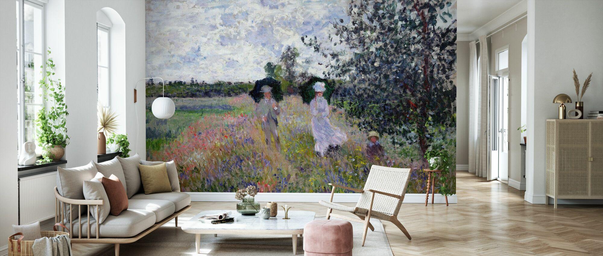 Promenade - Claude Monet - Tapet - Stue