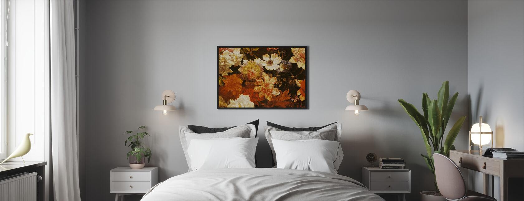 Detail van Bloemen - Michelangelo Cerquozzi - Poster - Slaapkamer