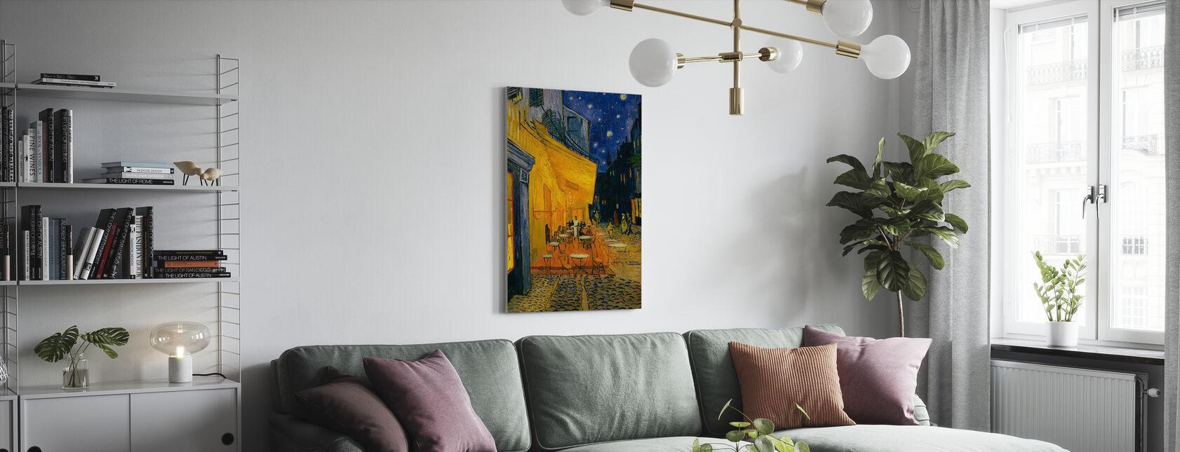 Café Terras - Vincent van Gogh - Canvas print - Woonkamer