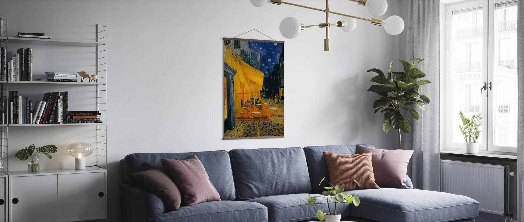 Kafé terrasse - Vincent van Gogh - Plakat - Stue