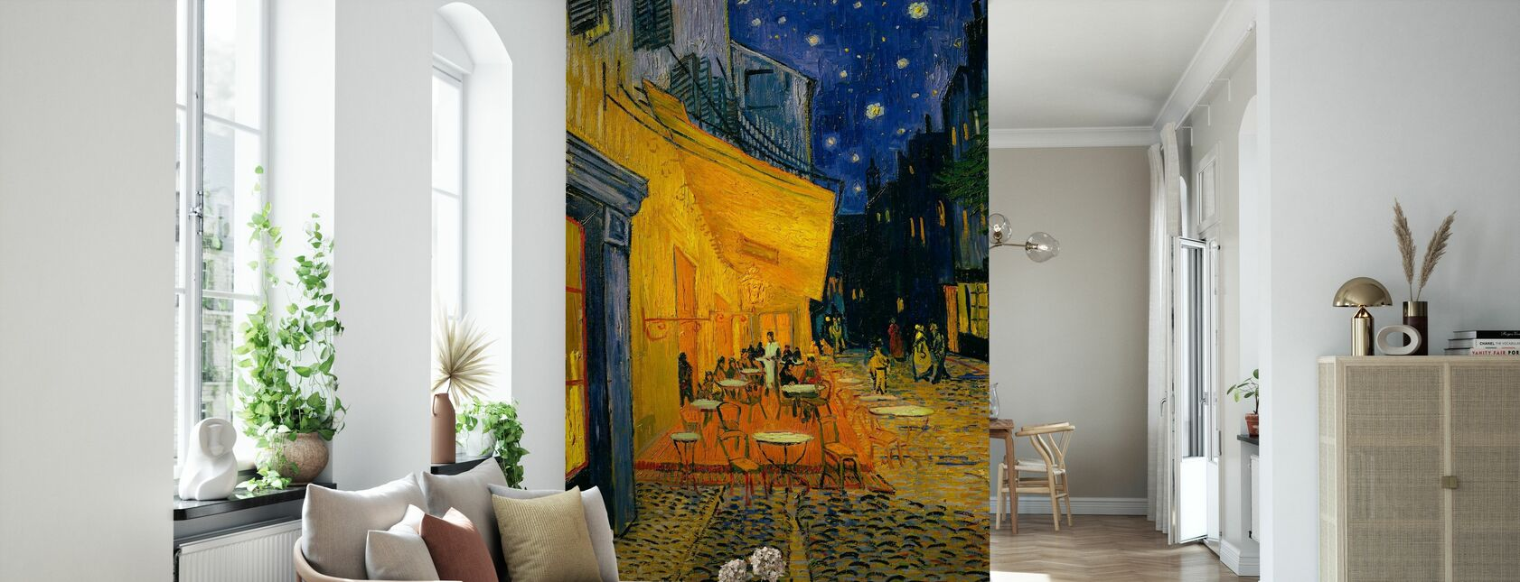 Kafé terrasse - Vincent van Gogh - Tapet - Stue