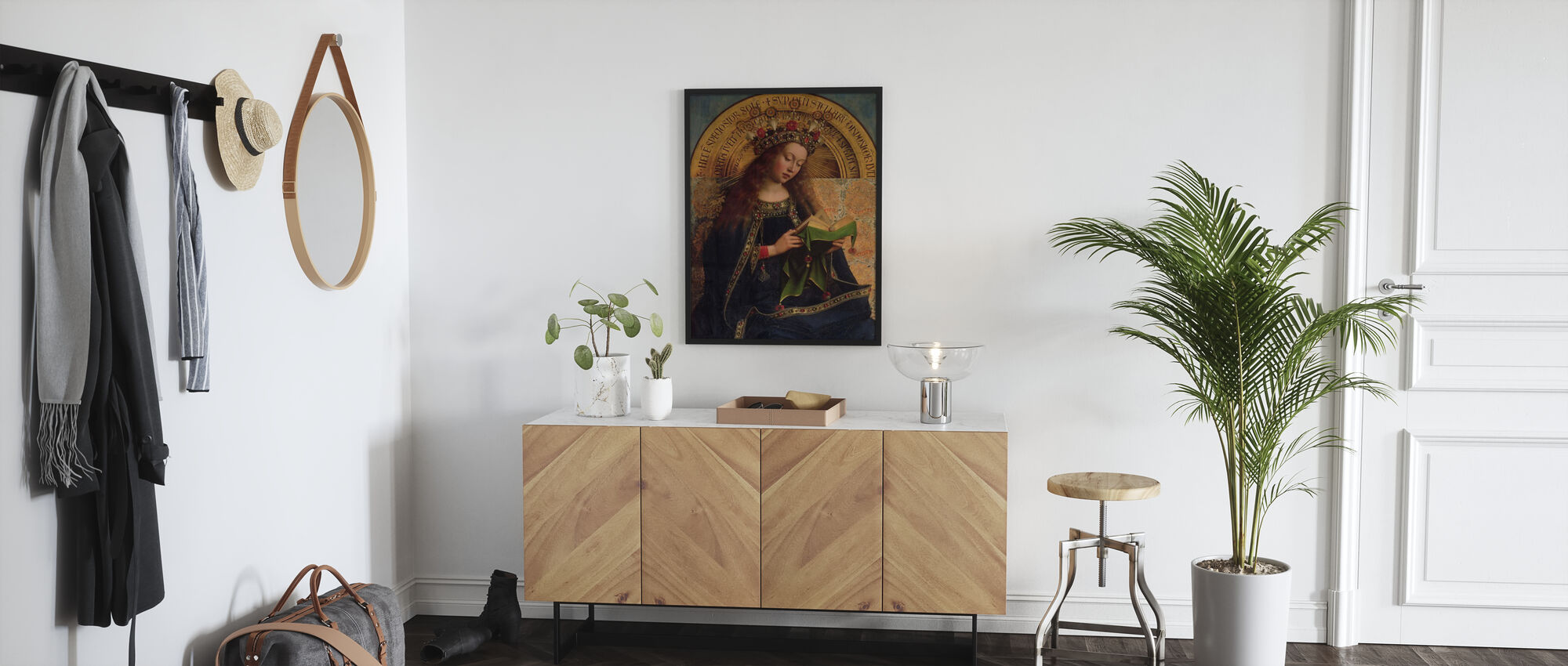Vierge Marie - Hubert Eyck - Affiche - Entrée