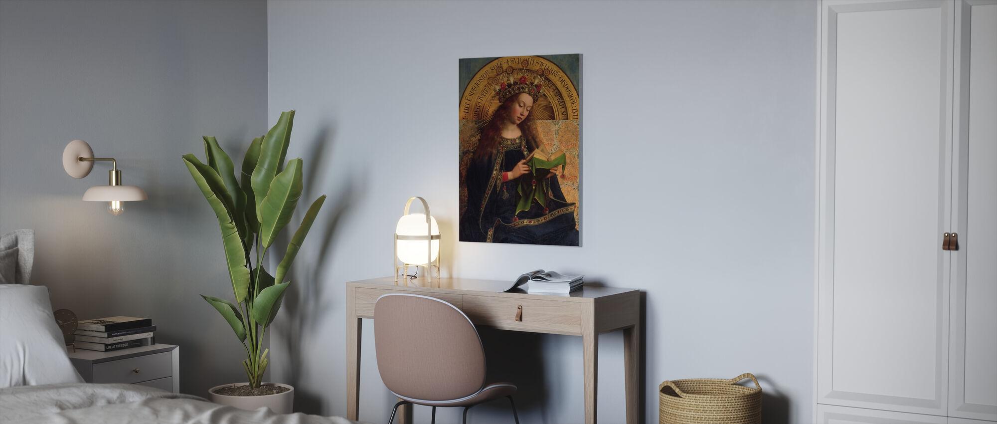 Virgin Mary - Hubert Eyck - Canvas print - Office