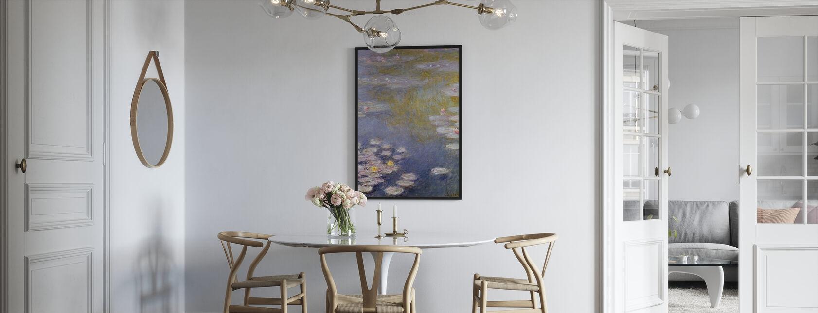 Monet, Claude - Nympheas a Giverny - Stampa incorniciata - Cucina