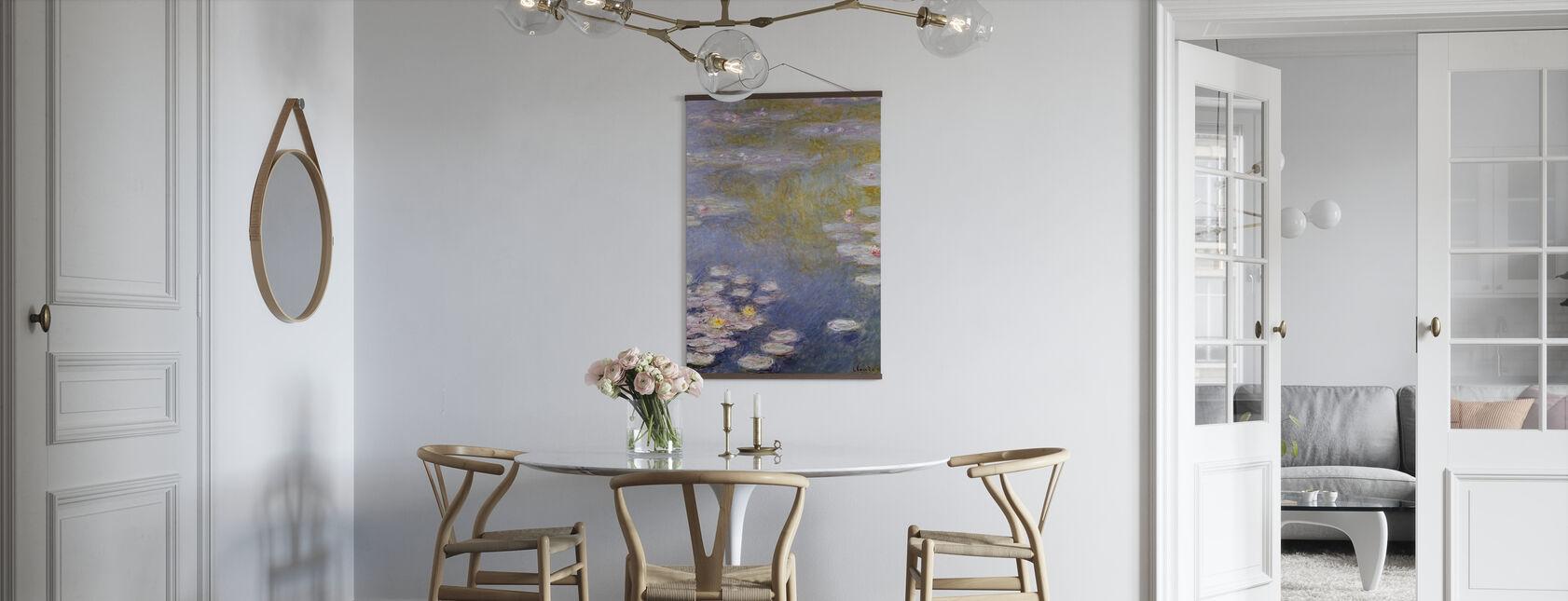 Monet, Claude - Nympheas bij Giverny - Poster - Keuken