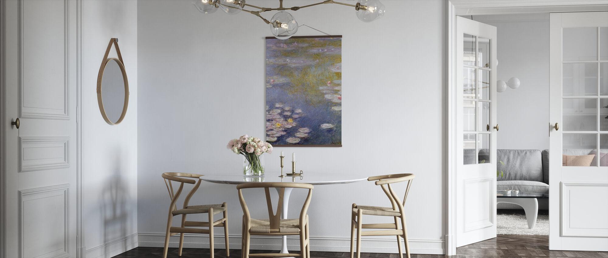 Monet, Claude - Nympheas à Giverny - Affiche - Cuisine