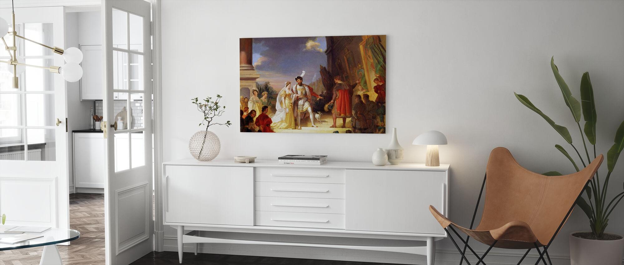 Francois I - Alexandre Evariste Fragonard - Canvas print - Living Room
