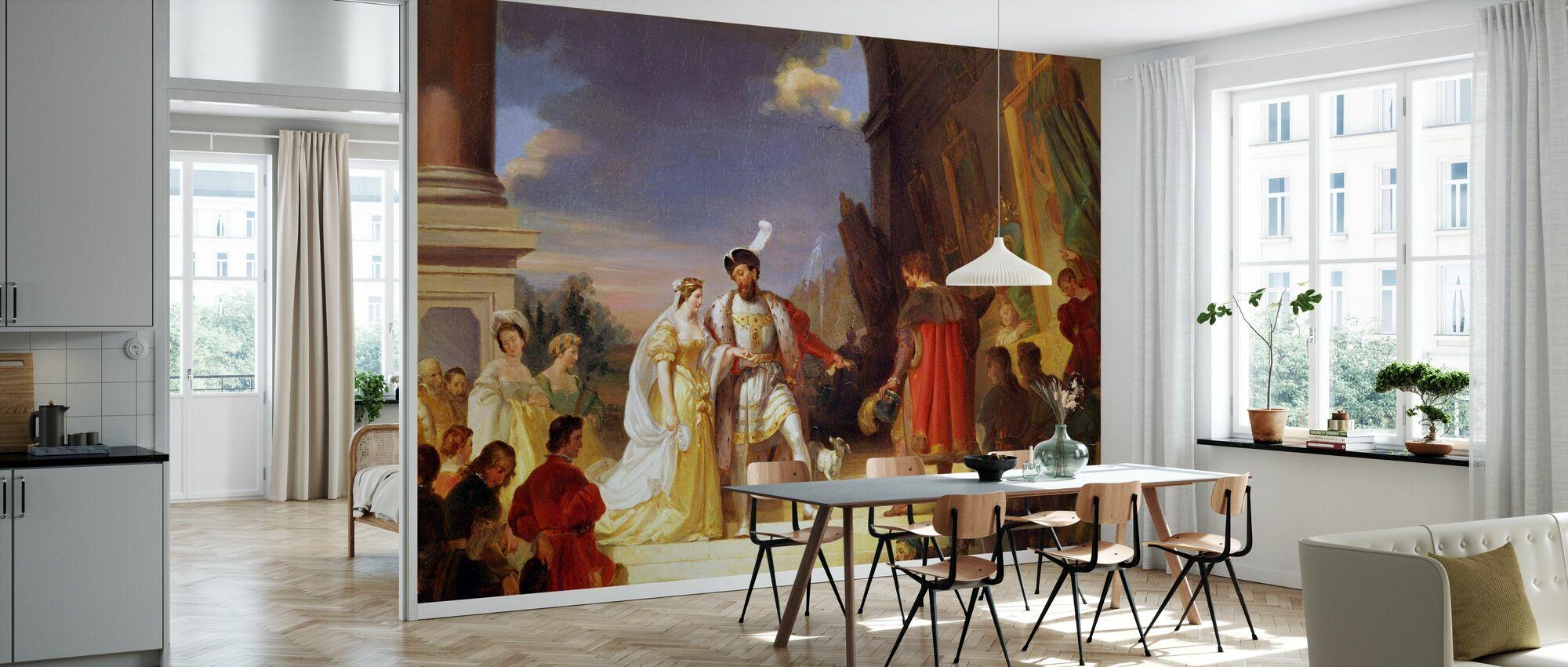 François I - Alexandre Evariste Fragonard - Tapet - Kjøkken