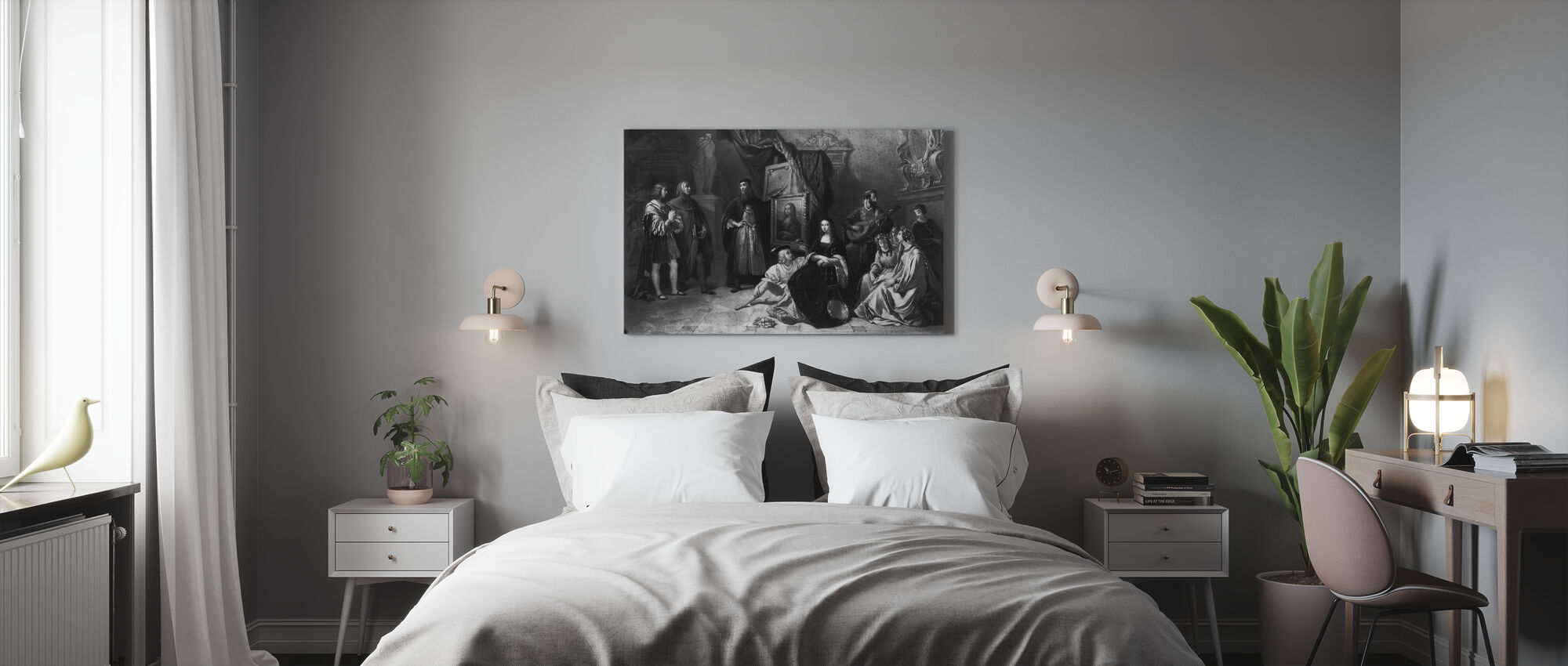 Gioconda - Aimee Brune - Canvas print - Bedroom