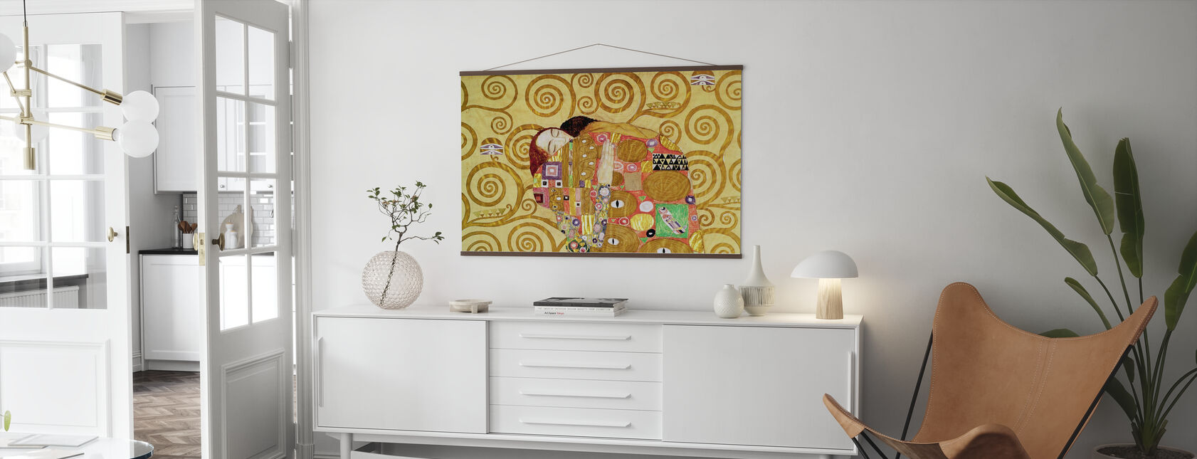 Opfyldelse - Gustav Klimt - Plakat - Stue
